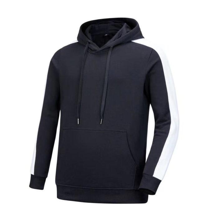 Classic dark blue and white team hoodie