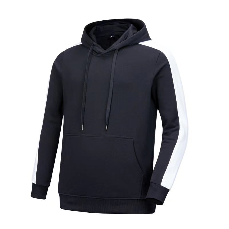 Classic dark blue and white team hoodie