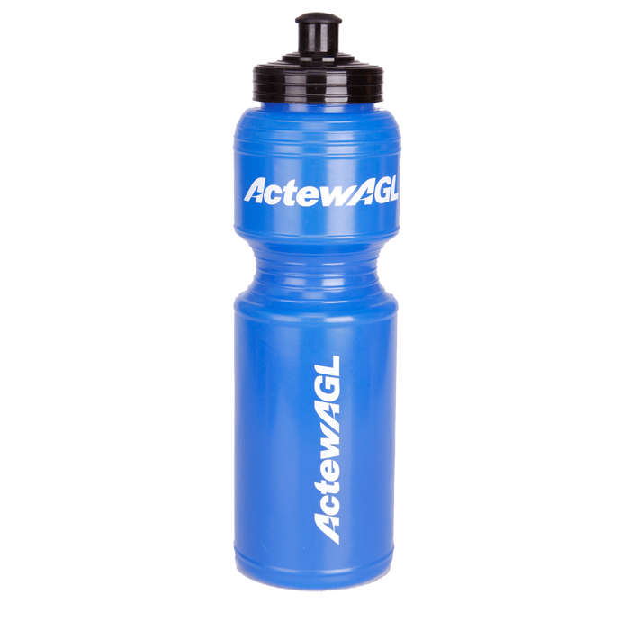 Large Sports Hydration Marks Water Bottle