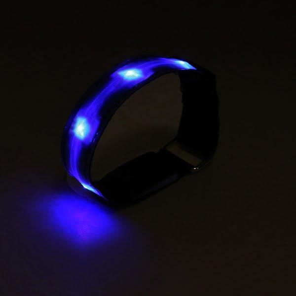 Blue LED Armband