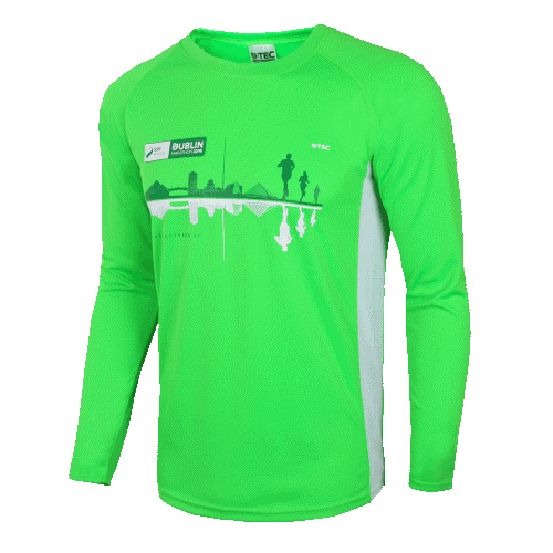 Long Sleeve Custom Running Shirt