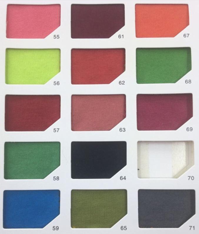 Colour range hoodie