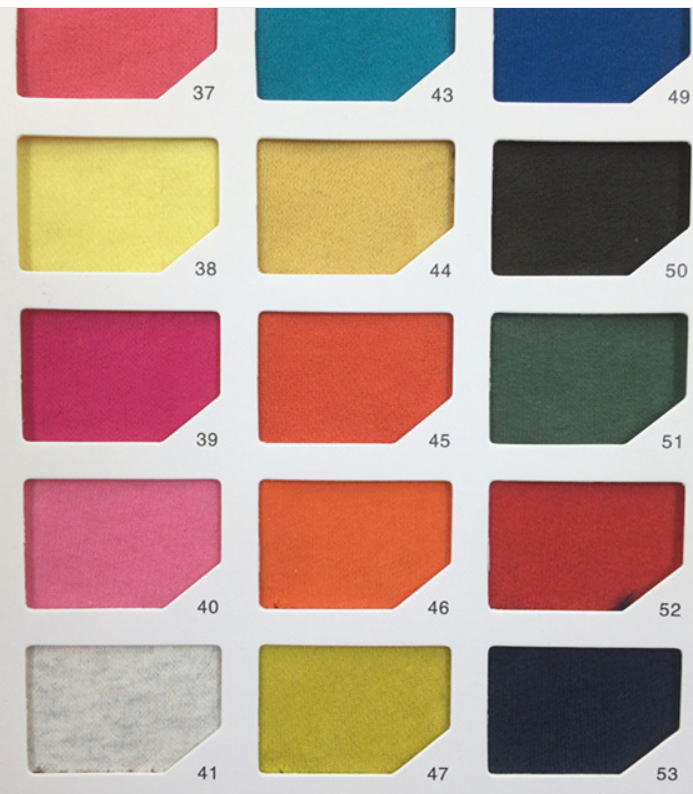 Custom Hoodie Colour range