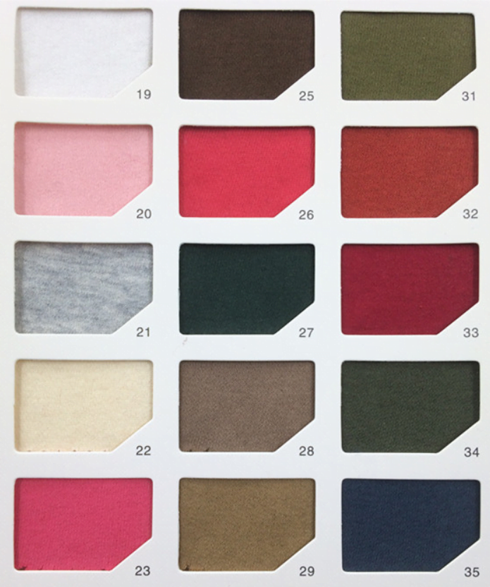 Custom Hoodie Stock Colours