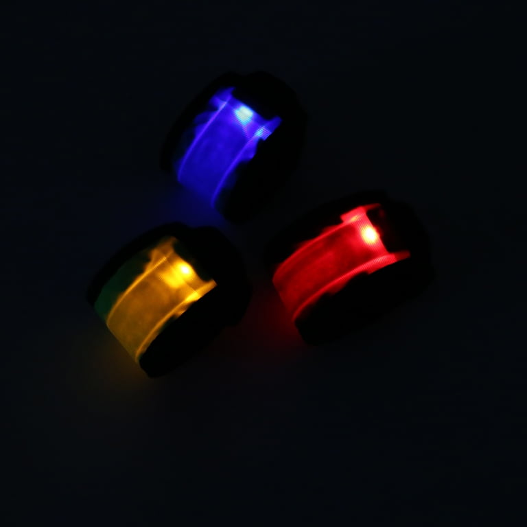 Flashing LED Snapband