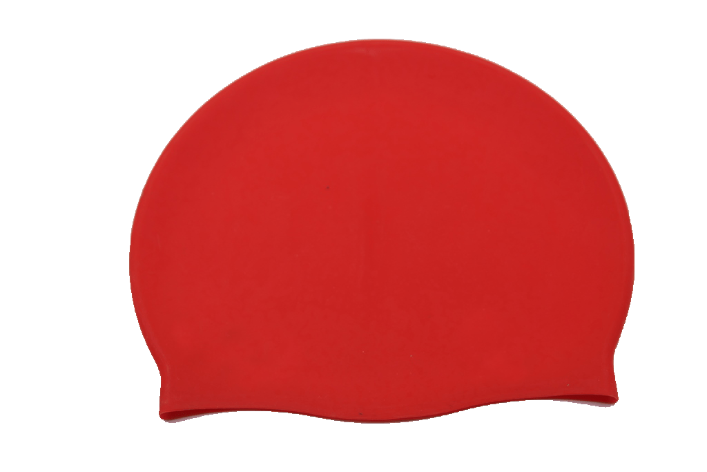 Red Swimming Cap