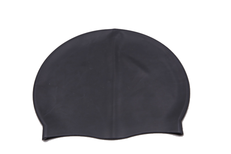 Black Swimming Cap
