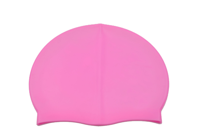 Coloured Pink Swimming Cap