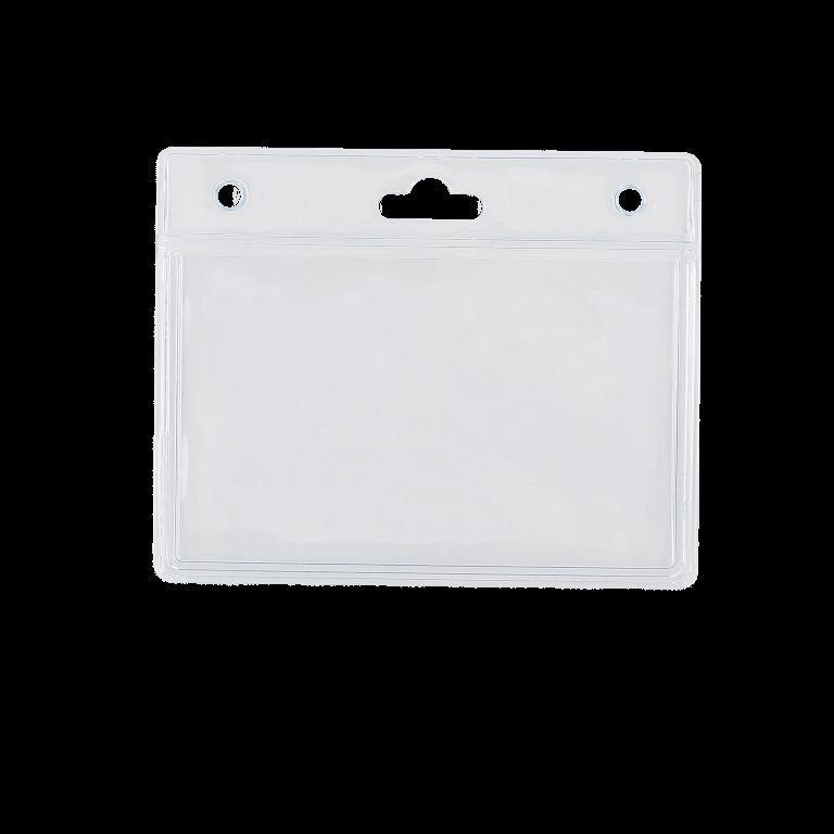 Plastic lanyard Slip in Pocket