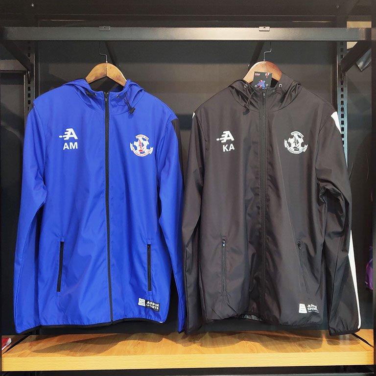 Custom sports rain coats