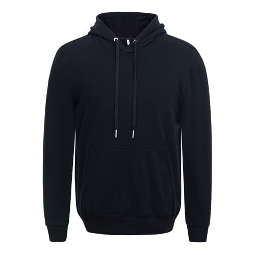 Black long sleeved team hoodie