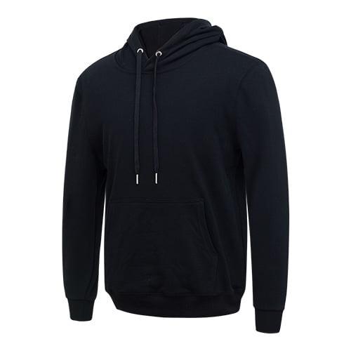 Black long sleeved team hoodie