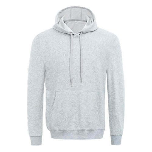 Grey long sleeved team hoodie