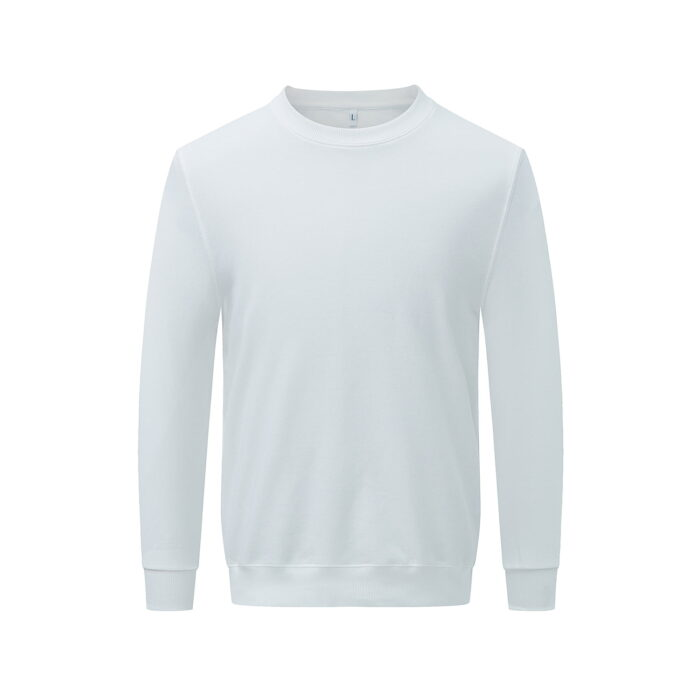 White long sleeved sweatshirt