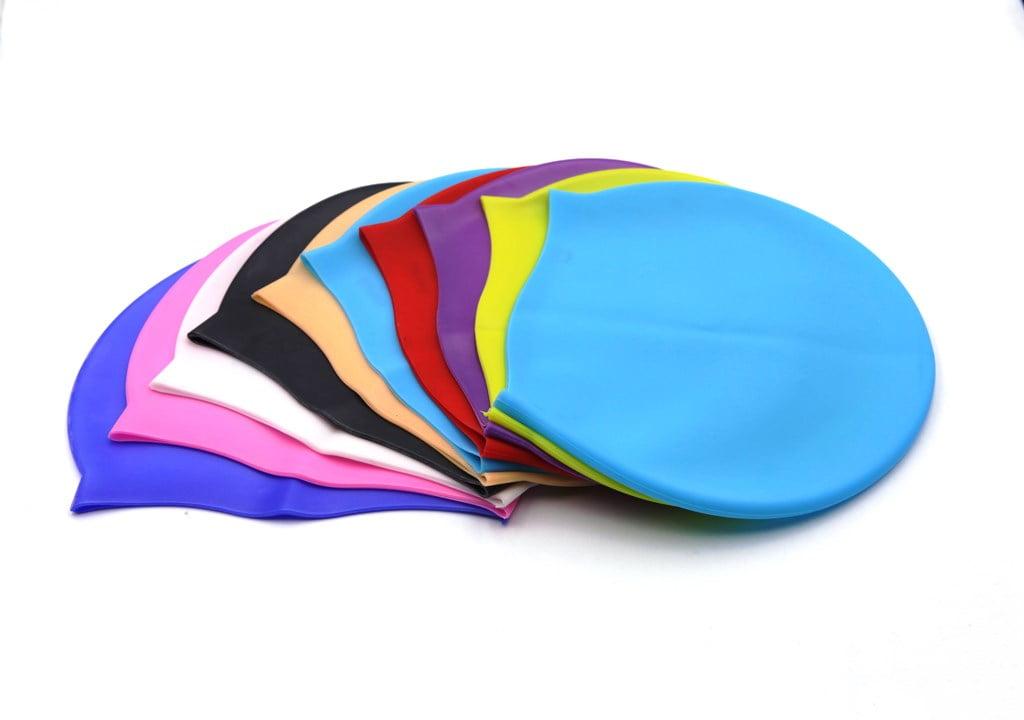 coloured Swimming Caps