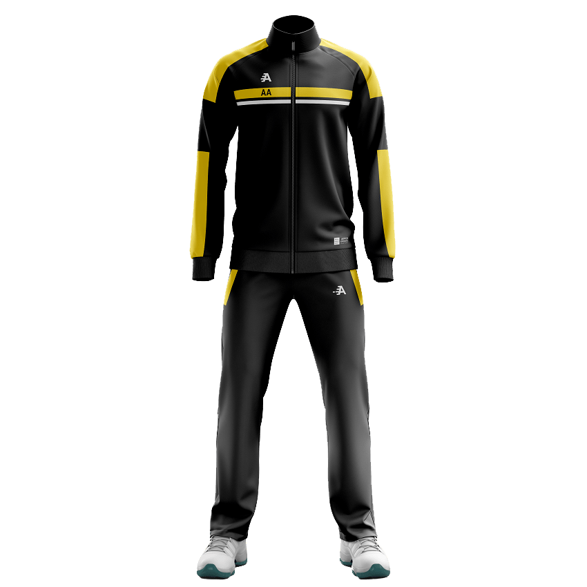 Yellow Tracksuit Set