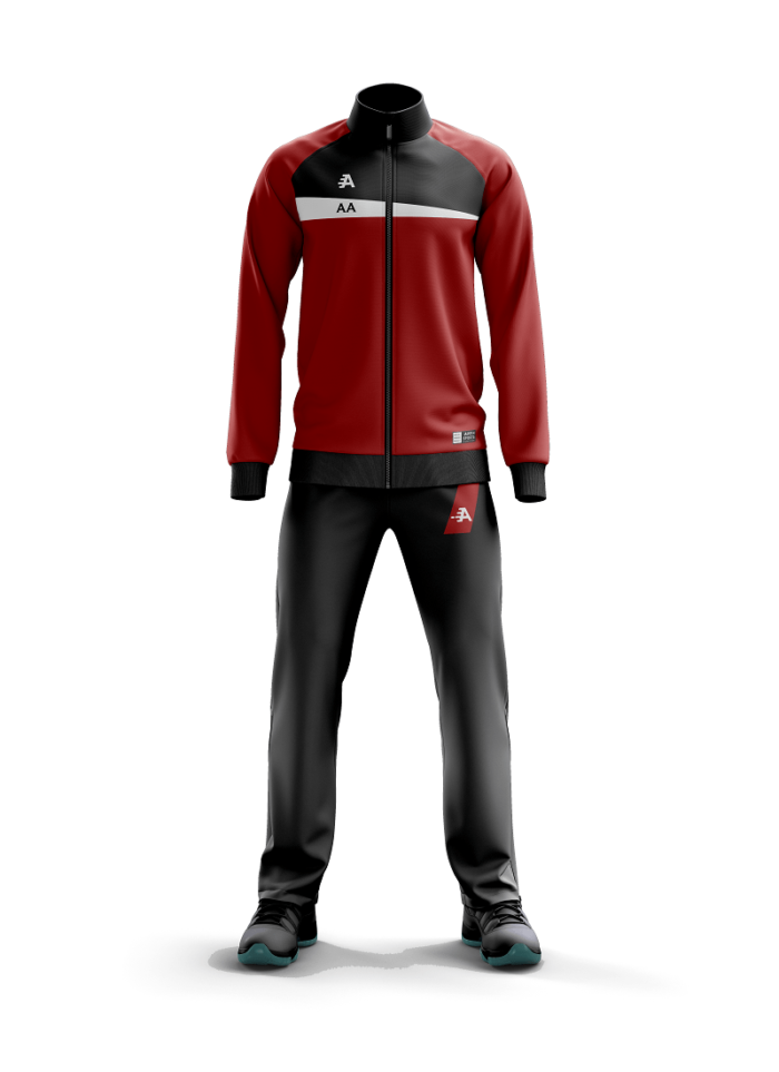 Appin Sport Branded Tracksuit Colour Block