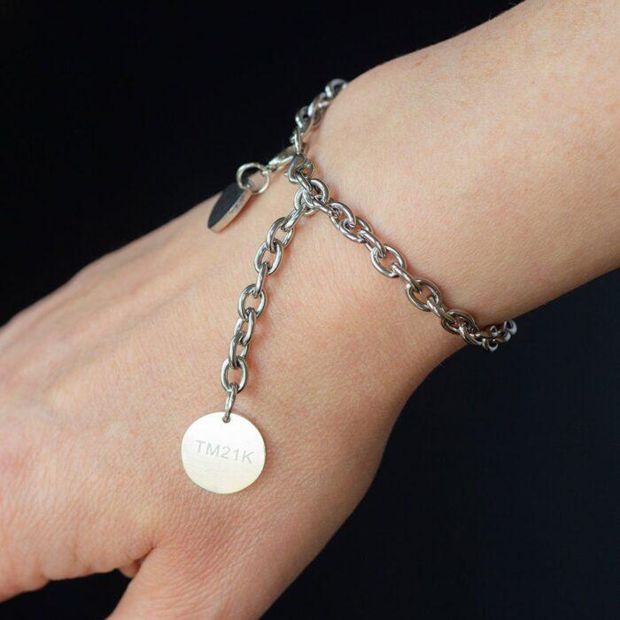 Custom Bracelet with charm