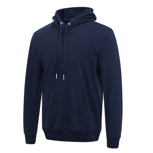 Navy long sleeved team hoodie