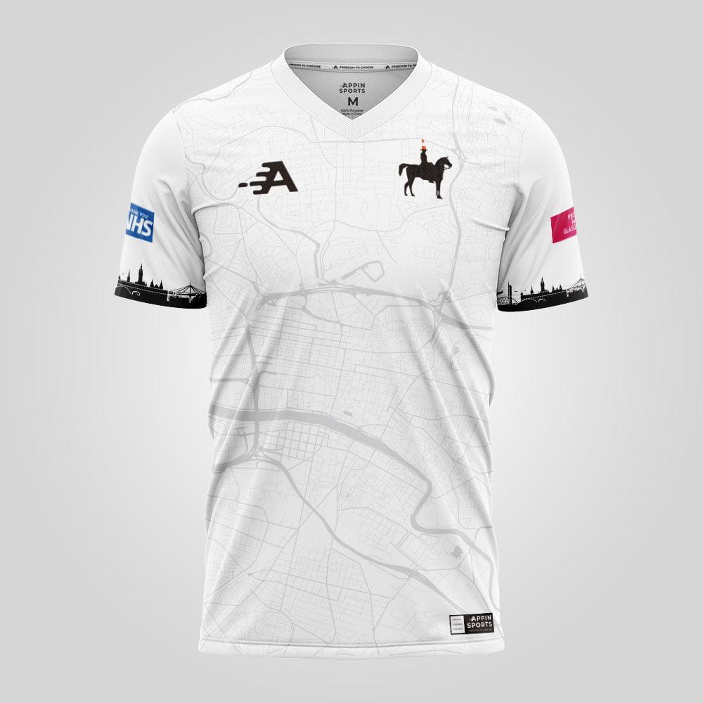 White Wellington Football shirt
