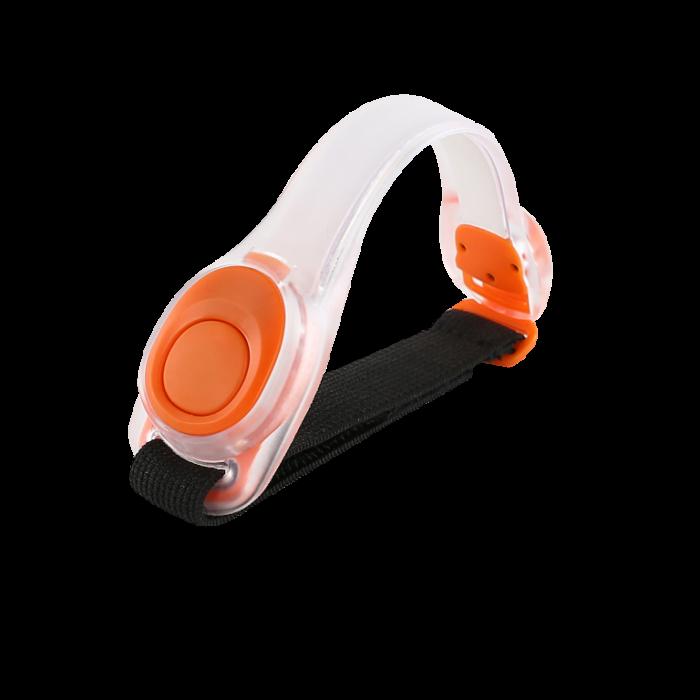 Adjustable Reflective LED Armbands to keep you safe