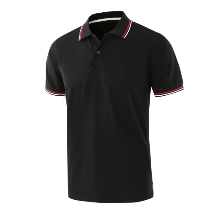 Classic cotton polo shirts Front