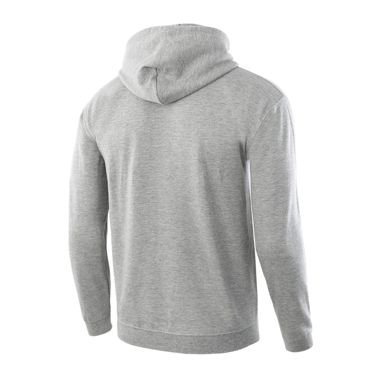 Classic Grey Pullover Hoodie