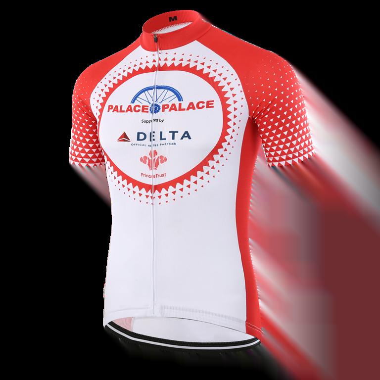 Custom made short sleeved cycling shirt