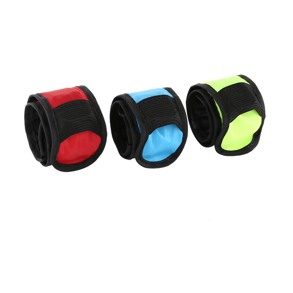 Reflective armbands will keep you safe when running