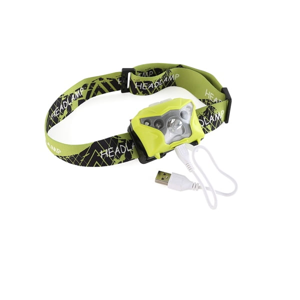 Stay safe with this eye-catching head torch