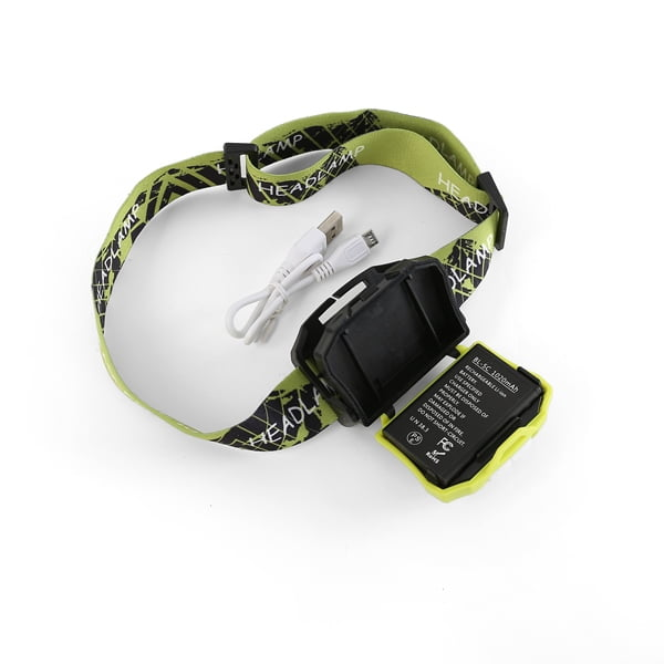 Head torch sublimation strap
