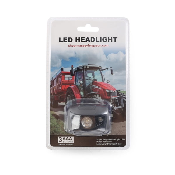 This LED head light will ensure you remain seen