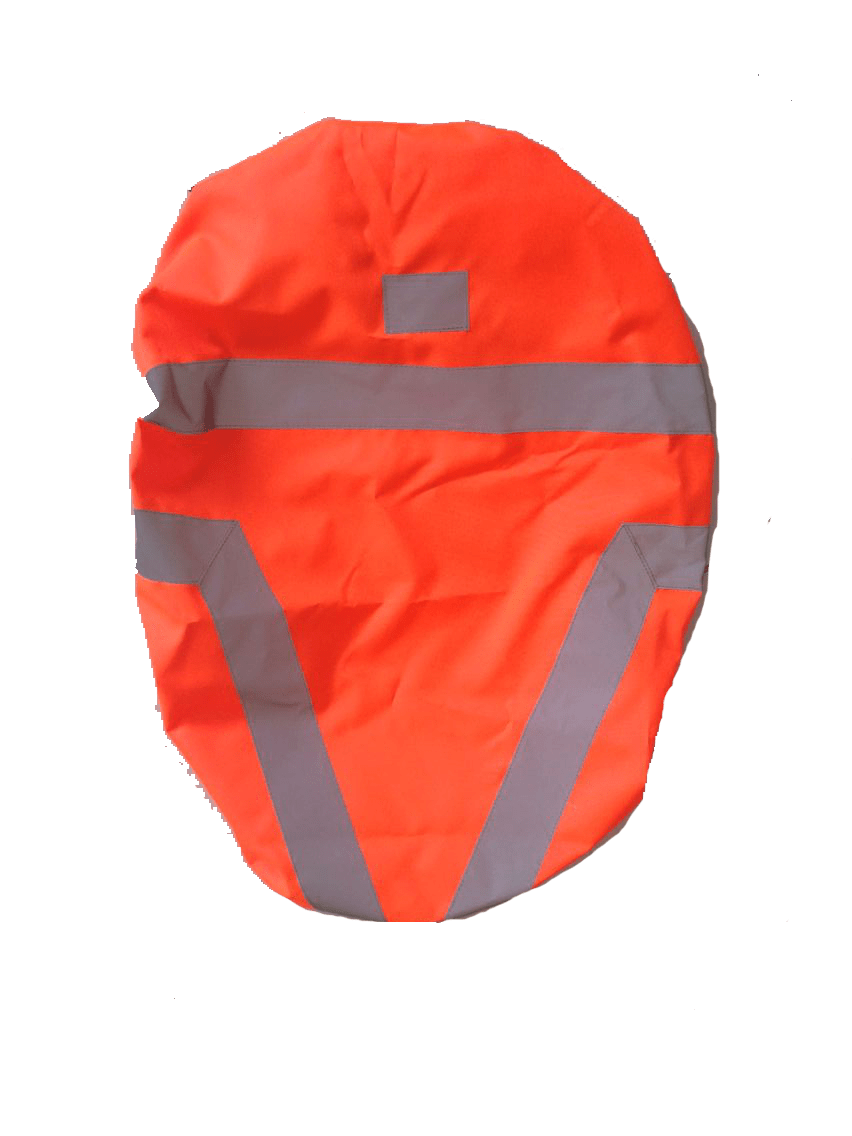 Hi visibility cover for cycling bags
