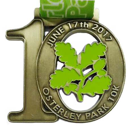 Custom Number medals