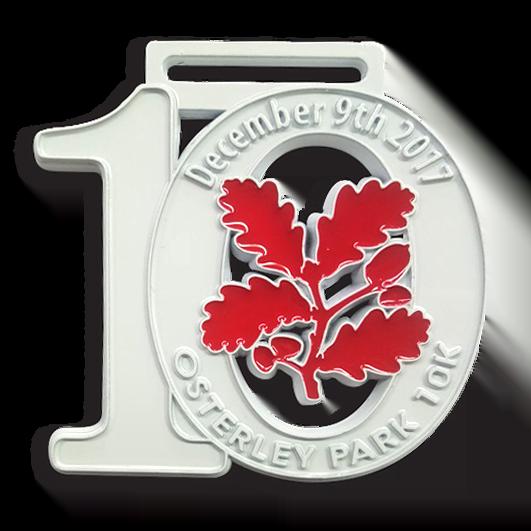 Number medals