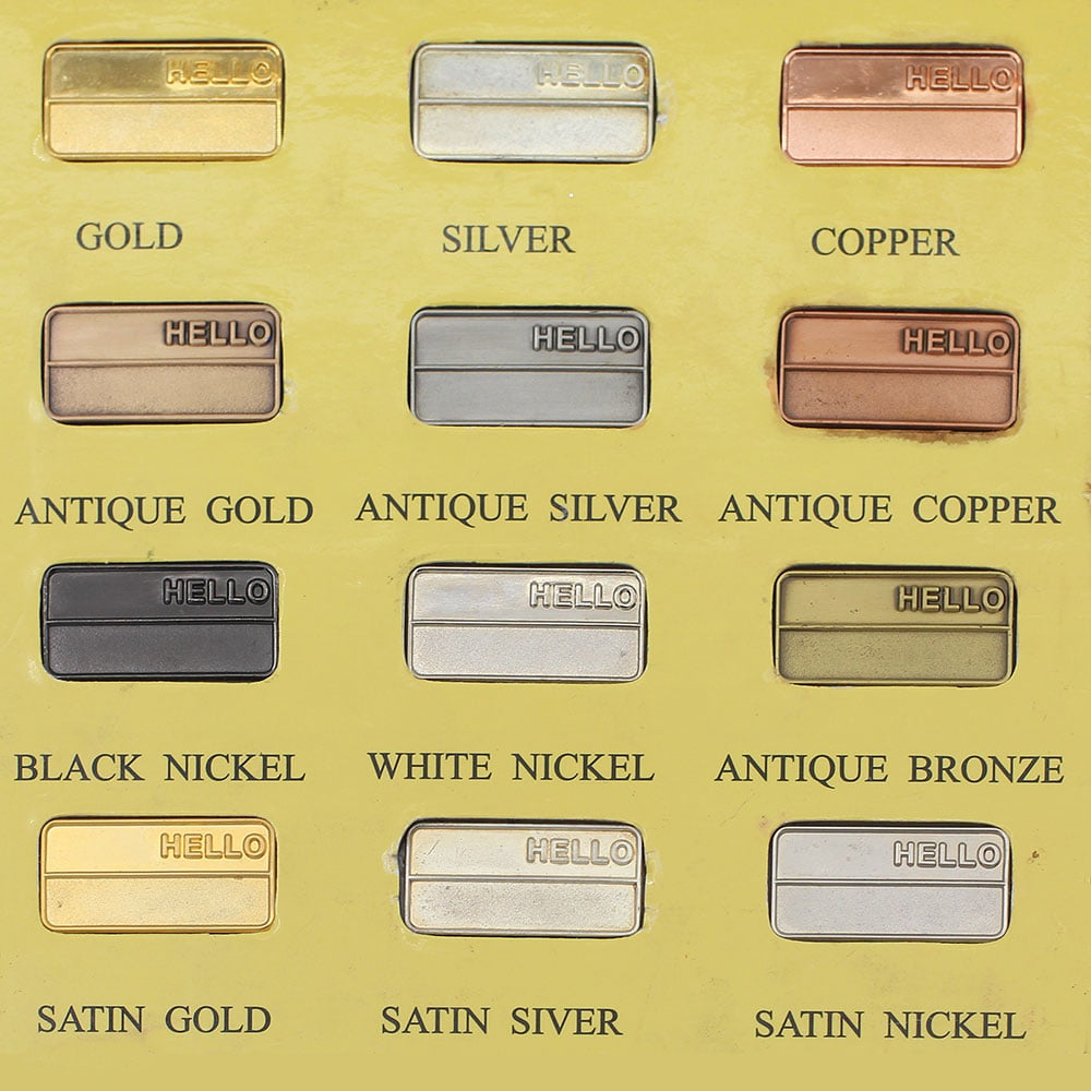 Medal Colours