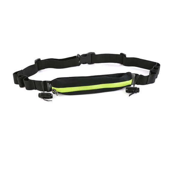 Race belt with pouch gel holder
