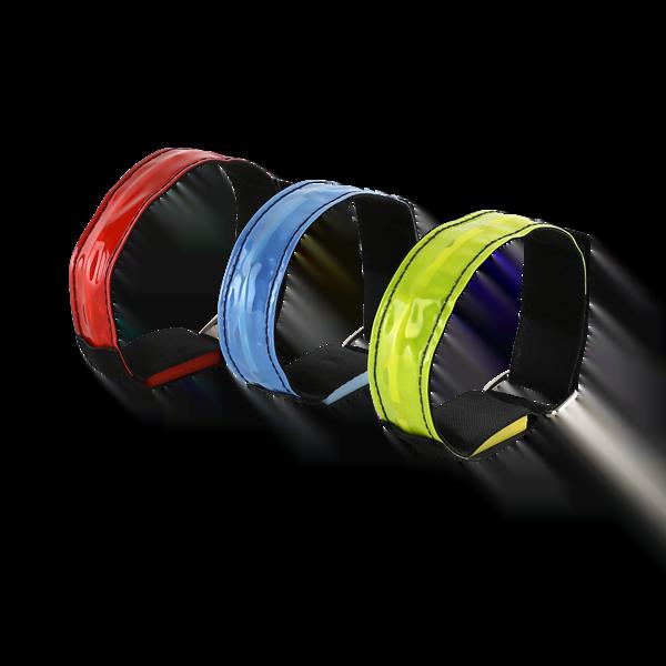 Reflective LED Armbands to keep you safe