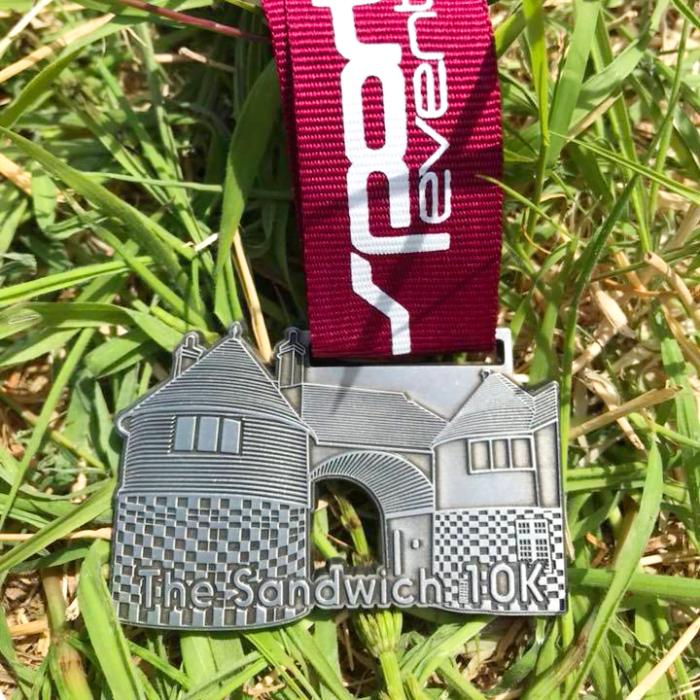 custom shaped medal