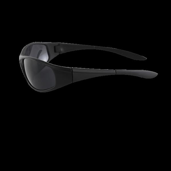 Sport Sunglasses Black Side View