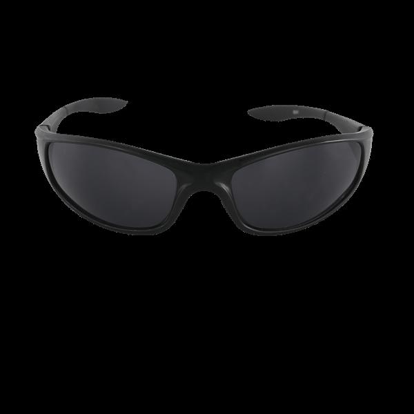Sport Sunglasses Black Front View