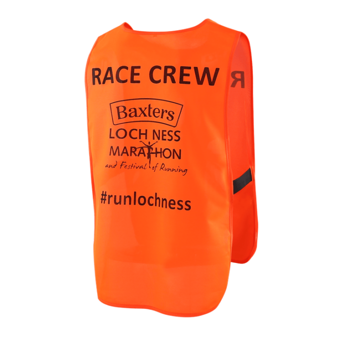 Our hi vis blothing can be branded with your event