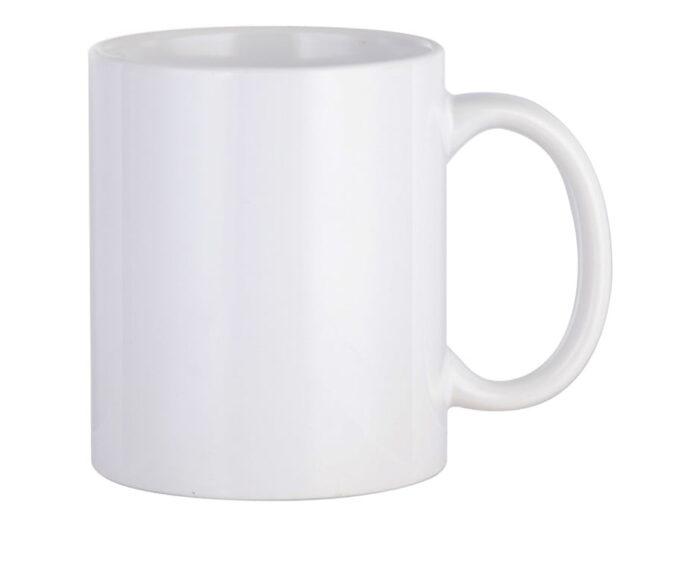 White Ceramic Mug get your branding printing