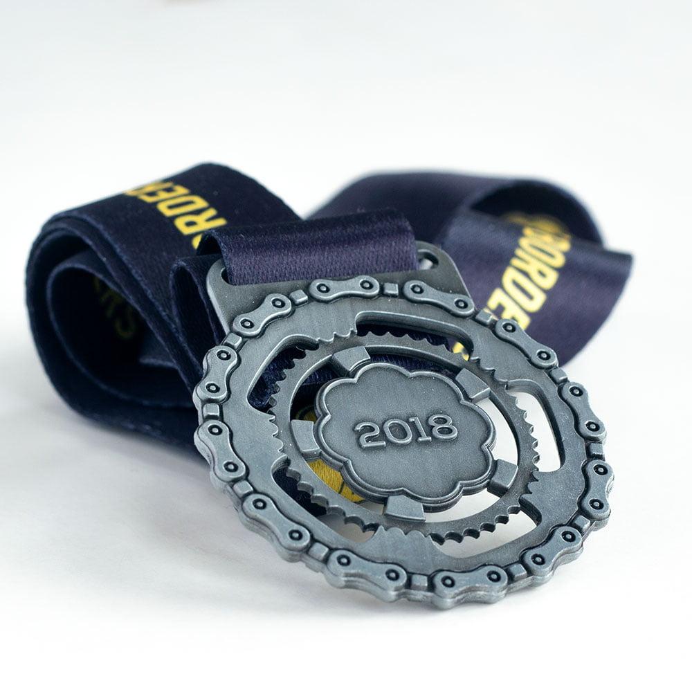 Custom design medal