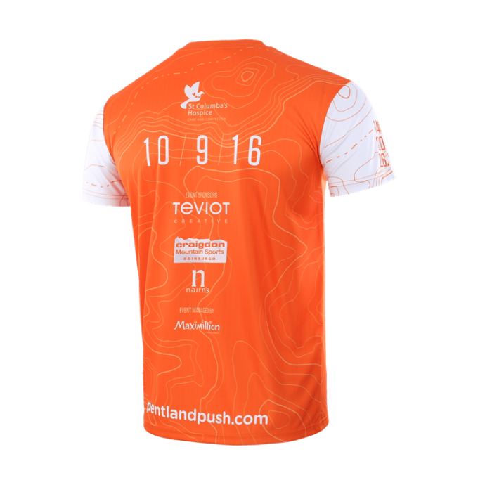 Fast wick sublimation test tshirt