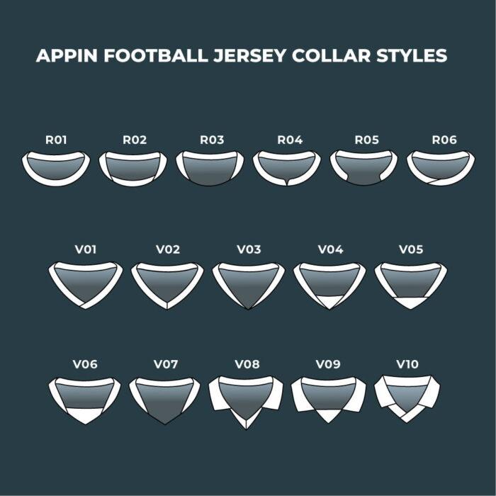 Football Jersey Collar Styles